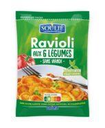 Ravioli aux 6 Légumes<br/>Poche