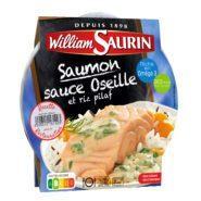 Saumon sauce oseille<br/>Micro-ondable